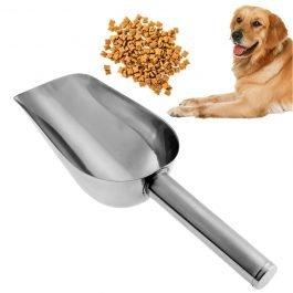 Pet/Cat/Dog Stainless Steel Large Capacity Food Scoop Spoon