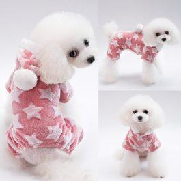 Fleece Winter Hooded Pajamas