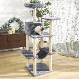 Luxury Cat Climbing Multi-Level Cat Tower