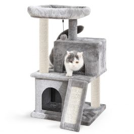 Cat Tree Luxury Cat Tower with Double Condos