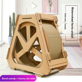 Corrugated Cat Treadmill Pet Furniture