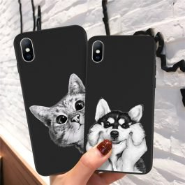 Ottwn Cute Phone Case For iPhone 6 6s 7 8 Plus 5 5s SE Soft