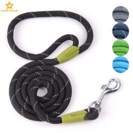 Pet Reflective Nylon Running Rope Dog Leash