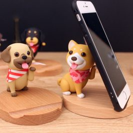 Mobile Phone Holder For iPhone Samsung Cute Dog Phone Accessories