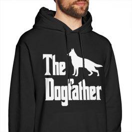 The Dogfather German Shepherd Dog Hoodies