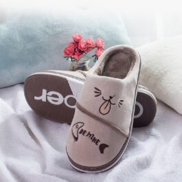Cute Winter Home Soft Fluffy Slippers