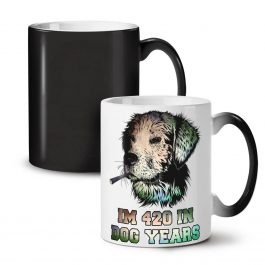 420 Dog Years Color Changing Mug 11 Oz