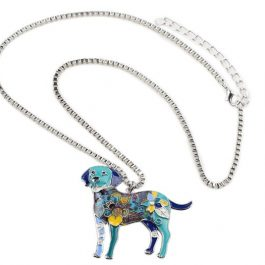 Labrador Dog Necklace Pendant
