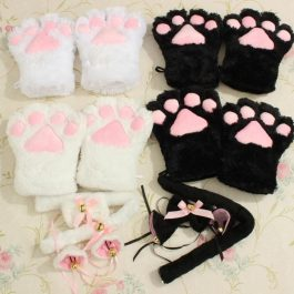 Kitten Cat Role Play Anime Costume Outfit