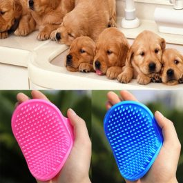 Portable Pet Grooming Massage Glove